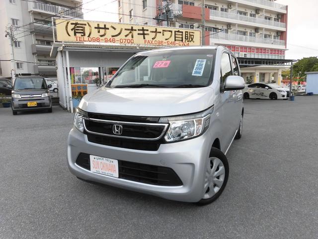 沖縄の中古車 ホンダ N-WGN 車両価格 78万円 リ済込 2015(平成27)年 5.5万km シルバーM