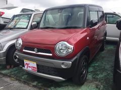 沖縄の中古車 スズキ ハスラー 車両価格 110万円 リ済込 平成27年 2.3万K レッドII