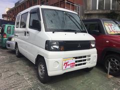 沖縄の中古車 三菱 ミニキャブバン 車両価格 31万円 リ済込 平成20年 14.8万K ホワイト