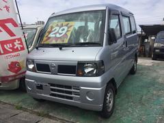 沖縄の中古車 日産 クリッパーバン 車両価格 29万円 リ済込 平成20年 12.8万K シルバー