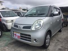 沖縄の中古車 日産 モコ 車両価格 22万円 リ済込 平成18年 4.0万K シルバー