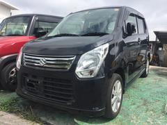 沖縄の中古車 スズキ ワゴンR 車両価格 63万円 リ済込 平成25年 8.7万K ブラック
