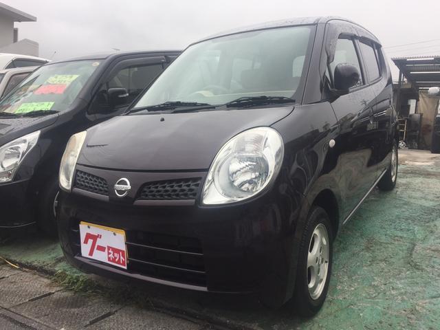 沖縄の中古車 日産 モコ 車両価格 33万円 リ済込 平成20年 9.9万km パープル