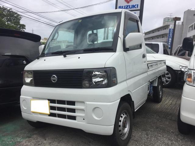 沖縄の中古車 日産 クリッパートラック 車両価格 36万円 リ済込 2004(平成16)年 10.1万km ホワイト