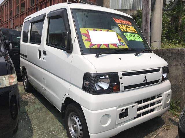 沖縄の中古車 三菱 ミニキャブバン 車両価格 29万円 リ済込 平成22年 12.7万km ホワイト
