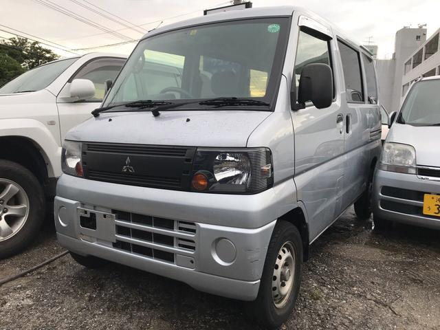 沖縄の中古車 三菱 ミニキャブバン 車両価格 29万円 リ済込 平成20年 11.9万km シルバー