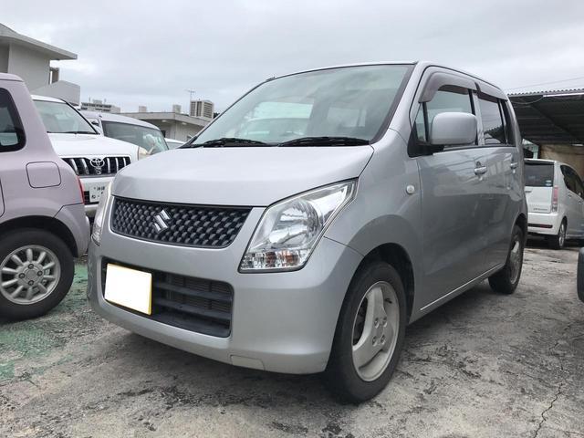沖縄の中古車 スズキ ワゴンR 車両価格 45万円 リ済込 2011(平成23)年 1.8万km シルバー