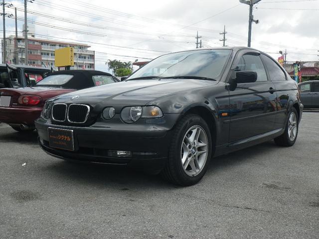 沖縄の中古車 BMW 3シリーズ 車両価格 39万円 リ済込 2003(平成15)年 9.5万km ブラック