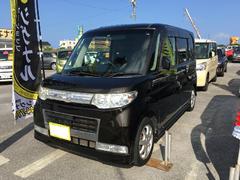 沖縄の中古車 ダイハツ タント 車両価格 53万円 リ済込 平成21年 8.5万K ブラック