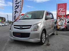 沖縄の中古車 マツダ AZワゴン 車両価格 53万円 リ済込 平成24年 8.5万K シルキーシルバーメタリック