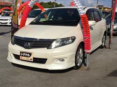 沖縄の中古車 ホンダ エアウェイブ 車両価格 63万円 リ済込 平成21年 6.9万K パールホワイト