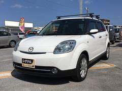 沖縄の中古車 マツダ ベリーサ 車両価格 49万円 リ済込 平成21年 7.8万K パールホワイト