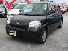 沖縄の中古車 ダイハツ エッセ 車両価格 36万円 リ済込 平成22年 7.0万K ブラック