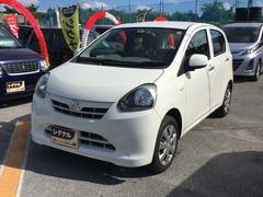 沖縄の中古車 ダイハツ ミライース 車両価格 43万円 リ済込 平成25年 7.8万K ホワイト