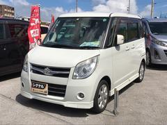 沖縄の中古車 スズキ パレット 車両価格 49万円 リ済込 平成21年 9.8万K パールホワイト