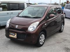 沖縄の中古車 スズキ アルト 車両価格 39万円 リ済込 平成22年 4.7万K ブラウン