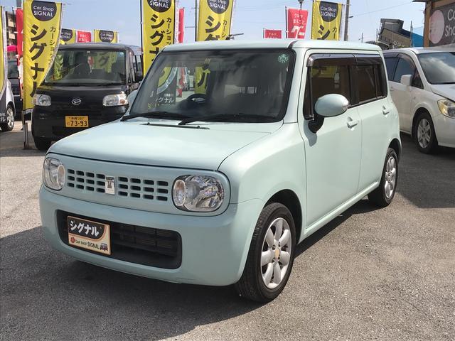 沖縄県の中古車ならアルトラパン T スマートキー CD 純正アルミ ベンチシート ターボ