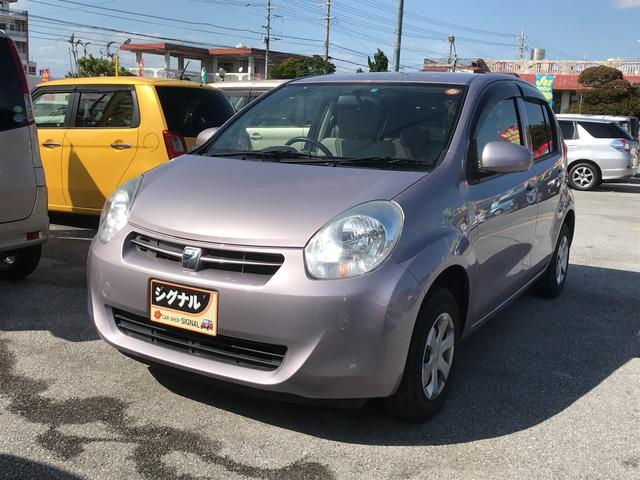 沖縄の中古車 トヨタ パッソ 車両価格 43万円 リ済込 2011(平成23)年 6.0万km ライトパープル