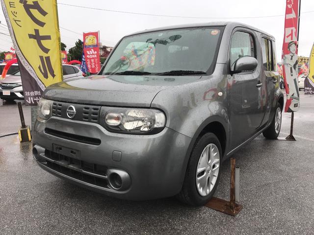 沖縄の中古車 日産 キューブ 車両価格 43万円 リ済込 2010(平成22)年 7.6万km グレーM