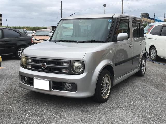沖縄県の中古車ならキューブ 15RX キーフリー ベンチシート ETC 社外アルミ