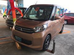 沖縄の中古車 三菱 eKスペース 車両価格 80万円 リ済込 平成26年 1.2万K オレンジ