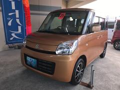 沖縄の中古車 スズキ スペーシア 車両価格 73万円 リ済込 平成25年 6.2万K オレンジ