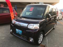 沖縄の中古車 ダイハツ タント 車両価格 68万円 リ済込 平成25年 7.4万K ミスティックレッドM