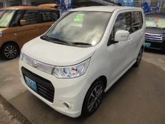 沖縄の中古車 スズキ ワゴンRスティングレー 車両価格 74万円 リ済込 平成24年 5.1万K パールホワイト