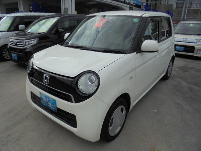 沖縄の中古車 ホンダ N-ONE 車両価格 43万円 リ済込 平成25年 9.7万km パールホワイト