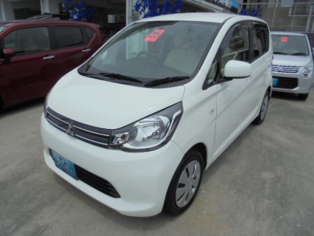 沖縄の中古車 三菱 eKワゴン 車両価格 54万円 リ済込 平成25年 5.7万km ホワイト
