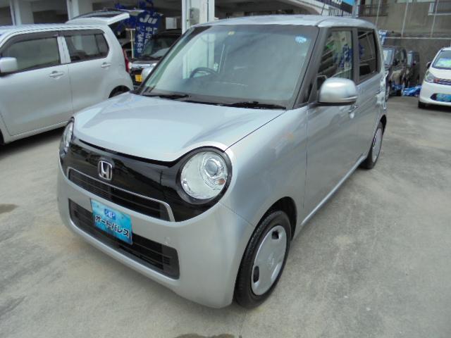 沖縄の中古車 ホンダ N-ONE 車両価格 58万円 リ済込 2014(平成26)年 8.0万km シルバーM