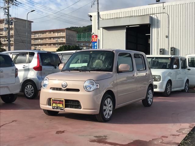 沖縄の中古車 ダイハツ ミラココア 車両価格 66万円 リ済込 平成23年 7.1万km ピンク