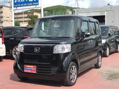 沖縄の中古車 ホンダ N BOX 車両価格 102万円 リ済込 平成26年 7.6万K Dブラック