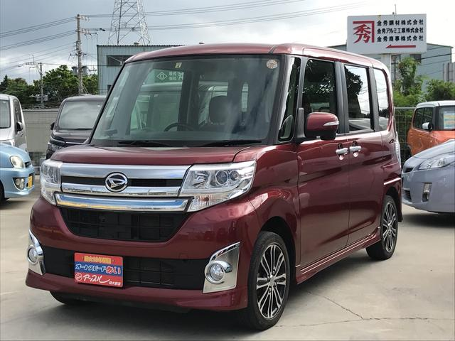 沖縄の中古車 ダイハツ タント 車両価格 115万円 リ済込 平成26年 7.5万km レッドM