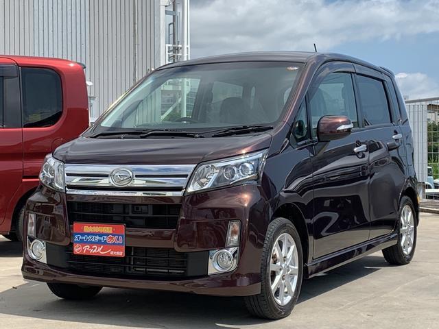 沖縄の中古車 ダイハツ ムーヴ 車両価格 79万円 リ済込 2014(平成26)年 4.7万km ブラウン