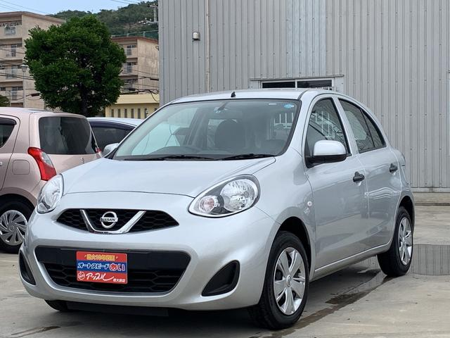 沖縄の中古車 日産 マーチ 車両価格 63万円 リ済込 2016(平成28)年 3.7万km シルバー
