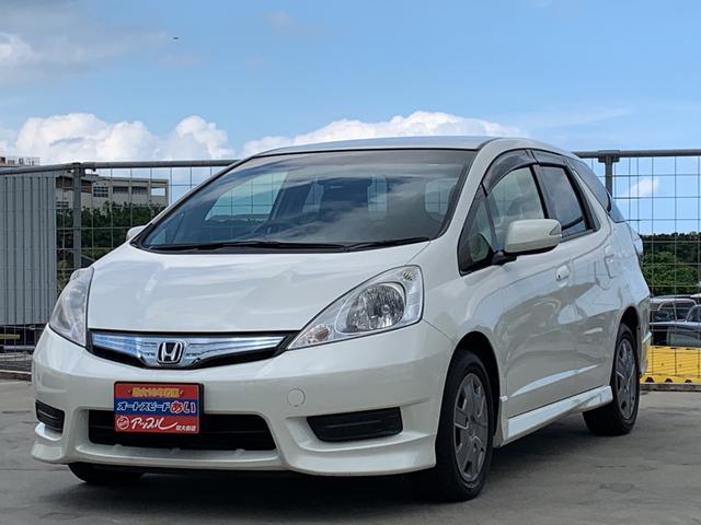 沖縄県の中古車ならフィットシャトルハイブリッド ハイブリッド・スマートセレクション ワンオーナー 純正ナビ