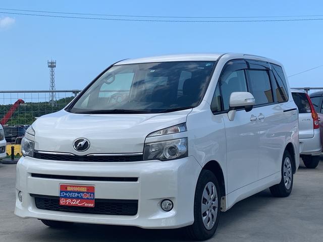 沖縄県の中古車ならヴォクシー X Lエディション  パワーバックドア 純正ナビ TV