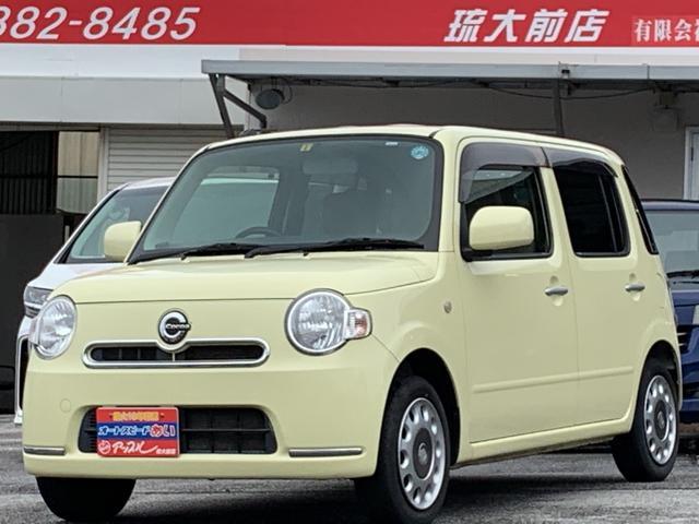 沖縄の中古車 ダイハツ ミラココア 車両価格 59万円 リ済込 2013(平成25)年 7.8万km ライトイエロー