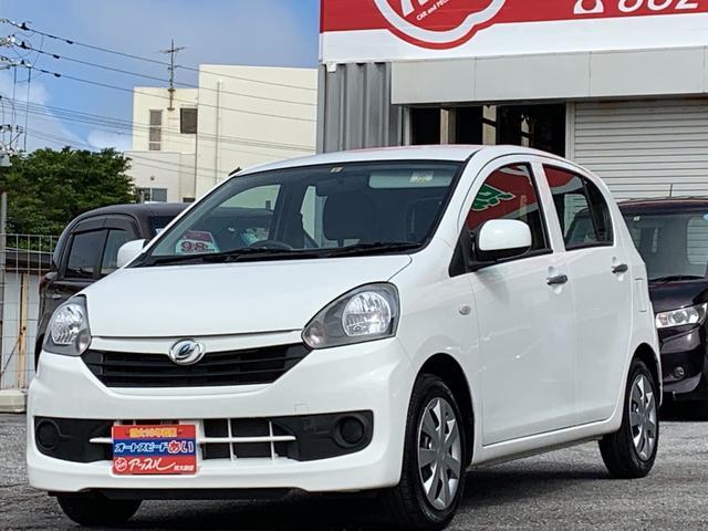沖縄の中古車 ダイハツ ミライース 車両価格 49万円 リ済込 2014(平成26)年 5.0万km ホワイト