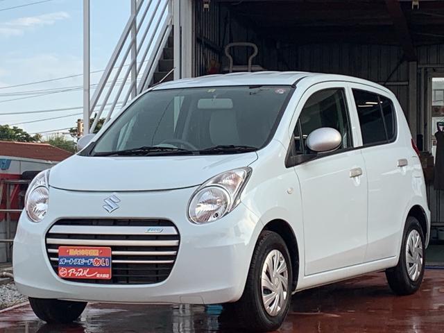 沖縄の中古車 スズキ アルトエコ 車両価格 55万円 リ済込 2014(平成26)年 2.2万km ホワイト
