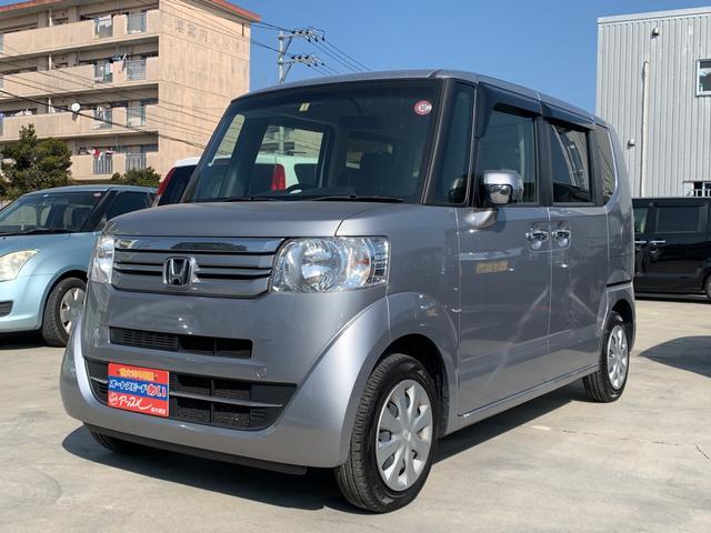 沖縄の中古車 ホンダ N-BOX 車両価格 103万円 リ済込 2017(平成29)年 6.2万km シルバーM