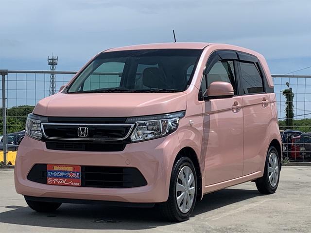 沖縄の中古車 ホンダ N-WGN 車両価格 79万円 リ済込 2016(平成28)年 5.0万km ピンク