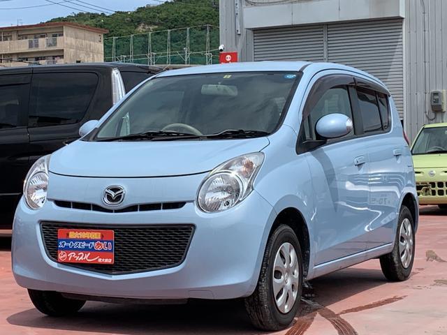沖縄の中古車 マツダ キャロル 車両価格 38万円 リ済込 2013(平成25)年 3.4万km ライトブルーM