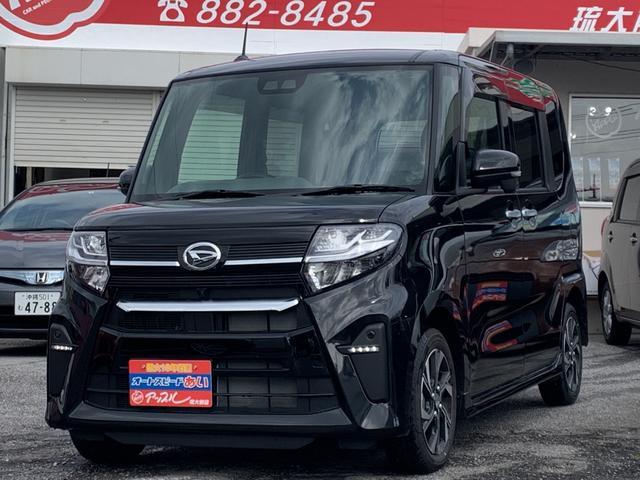 沖縄の中古車 ダイハツ タント 車両価格 172万円 リ済込 2019(令和1)年 50km ブラック
