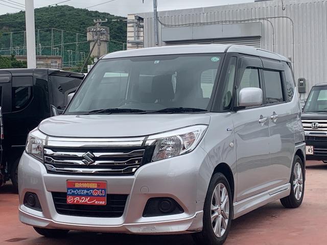沖縄の中古車 スズキ ソリオ 車両価格 113万円 リ済込 2017(平成29)年 7.2万km シルバーM