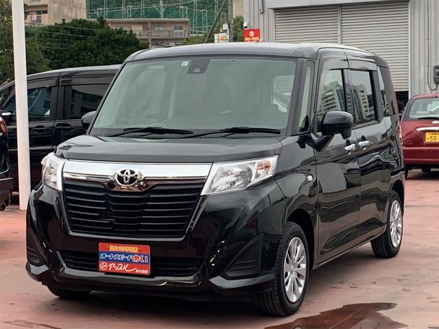 沖縄の中古車 トヨタ ルーミー 車両価格 125万円 リ済込 2018(平成30)年 4.6万km ブラック
