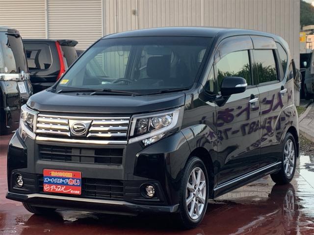 沖縄の中古車 ダイハツ ムーヴ 車両価格 88万円 リ済込 2016(平成28)年 7.0万km ブラック