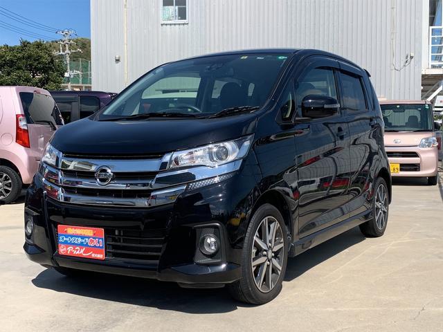 沖縄の中古車 日産 デイズ 車両価格 103万円 リ済込 2017(平成29)年 4.1万km Dブラック