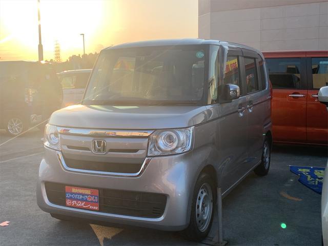 沖縄の中古車 ホンダ N-BOX 車両価格 115万円 リ済込 2018(平成30)年 5.8万km ライトグレー